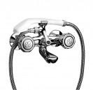 Gruppo vasca esterno tradizionale 700 con doccia