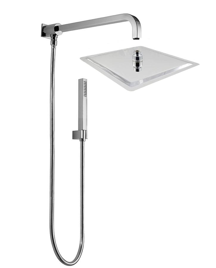 Soffione Doccia Con Deviatore.Charm Bathroom By Kango Mall Kit Soffione Doccia Terry Braccio